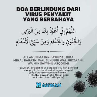 Virus Corona Sampai di Indonesia, Yuk Amalkan Doa Ajaran Nabi Muhammad