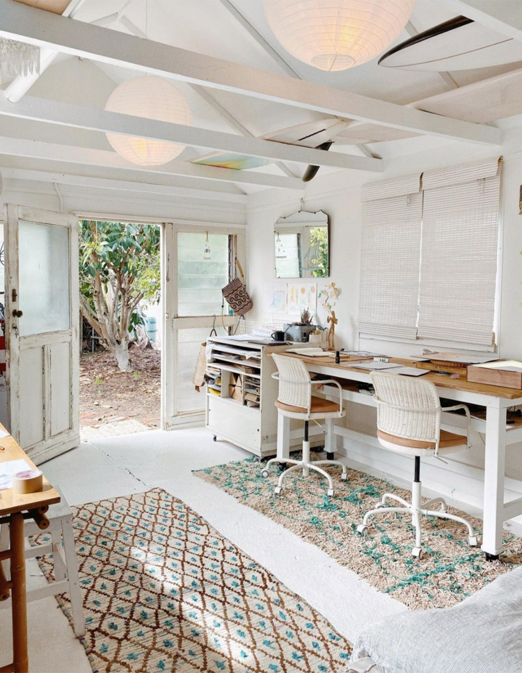 Surfs Up At A Boho Studio And Holiday Home Hideaway