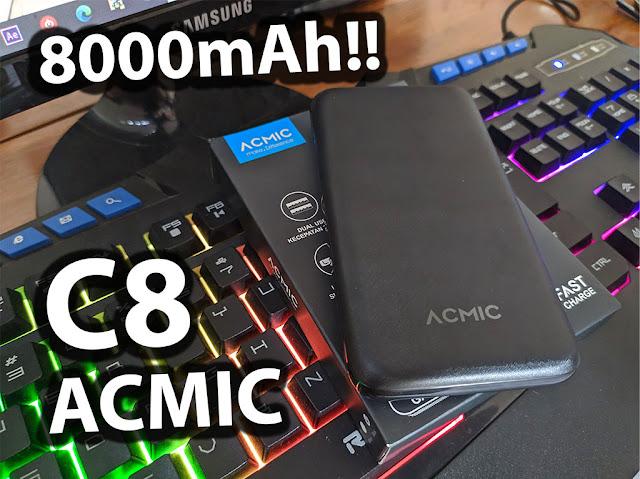 Powerbank ACMIC C8 8000mAh