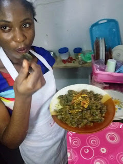 Akwa Ibom Got Talent - Blessing Emah of Food Hacks Invented A Unique Cultural Cuisine