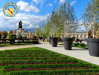 NANCY (54) - Place Stanislas : les jardins éphémères 2012
