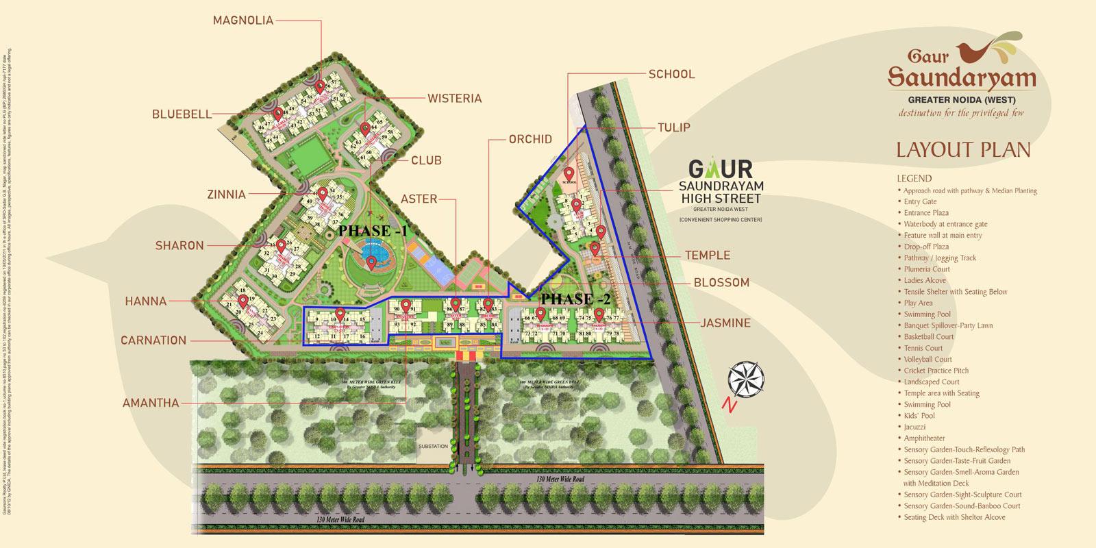 Gaur-Saundaryam-Site-layout-plan