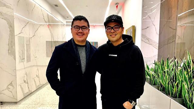 Winston Utomo dan Michael Chow