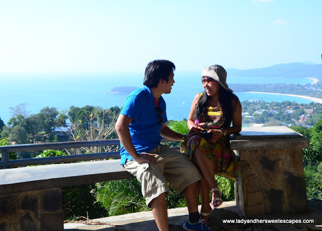 Ed and Lady in Karon Viewpoint