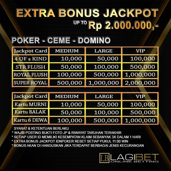 Extra Bonus Jackpot