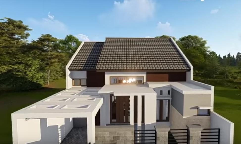 Desain Dan Denah Rumah Terbaru Ukuran 9 X 12 M Dengan 3 Kamar Tidur 2 Toilet Dan Mushola Dalam Rumah Yang Elegan Homeshabby Com Design Home Plans Home Decorating And Interior Design