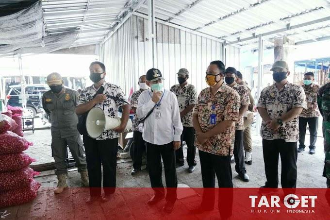 Tinjau Pasar Porda Juwana, Bupati Haryanto Ingatkan Pedagang Cek Keadaan Listrik