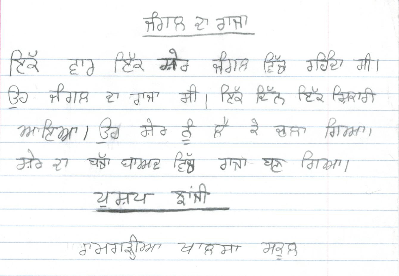 Essay on pollution in punjabi language translator