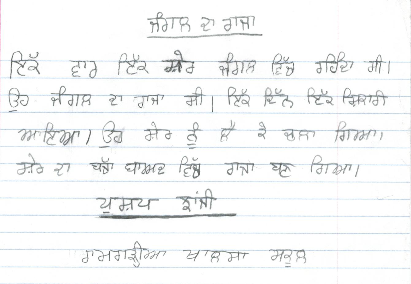 Essay Pollution In Punjabi Language