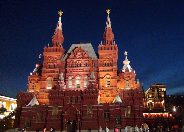 Red Square night