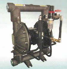 Powder diaphragm pumps
