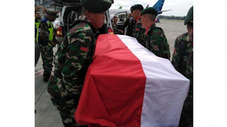Kabar Duka, 3 Anggota TNI Gugur dalam Kontak Senjata dengan KKB di Papua!