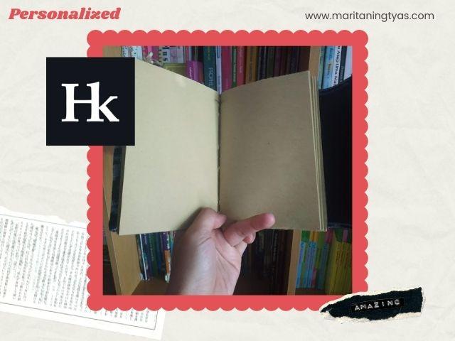 jurnal tenun with brownpaper