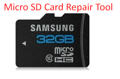Micro SD Card Repair Tool