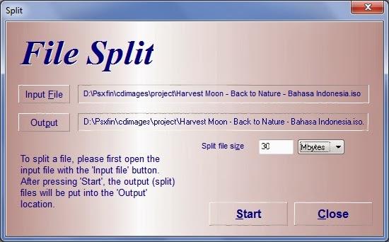 Cara mudah dan cepat split file menggunakan winrar & hjsplit