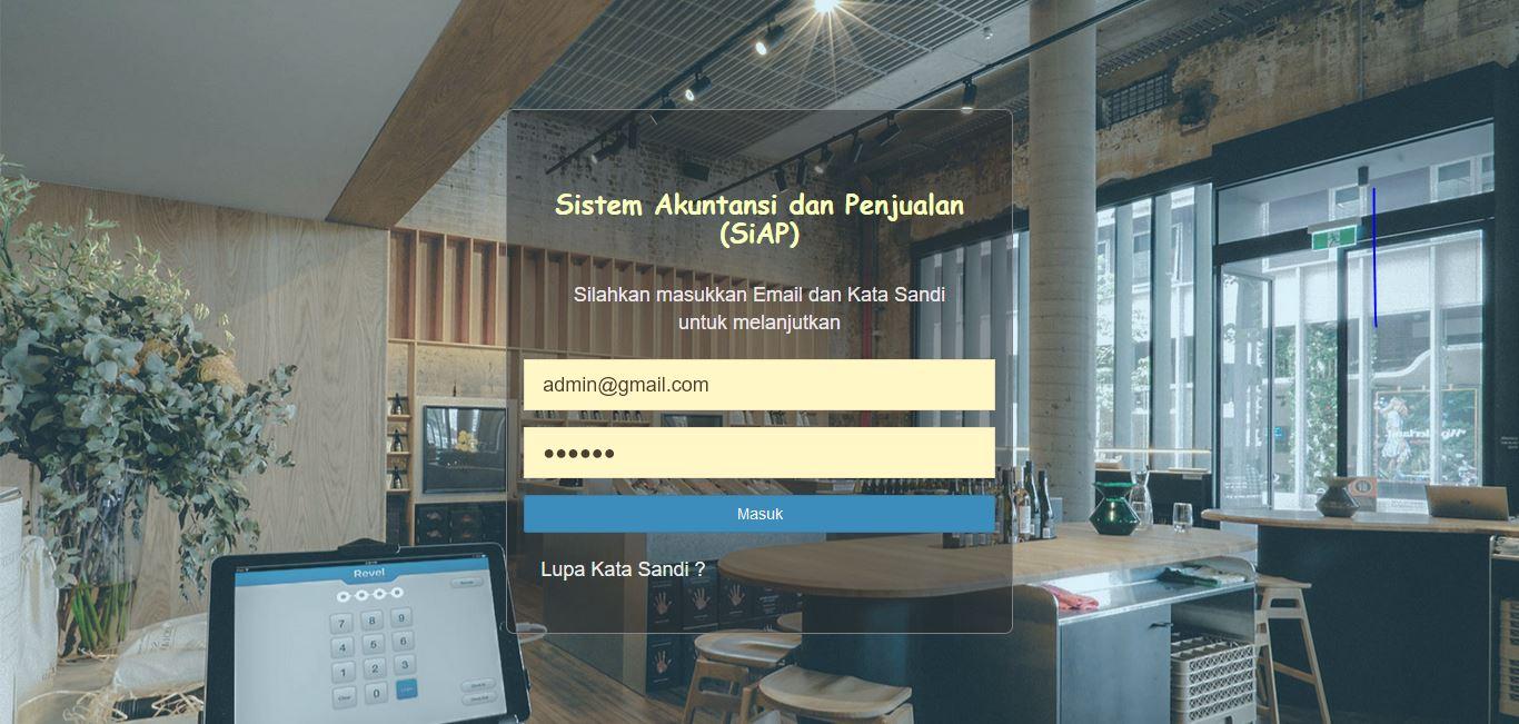 Sistem Akuntansi dan Penjualan (SiAP)