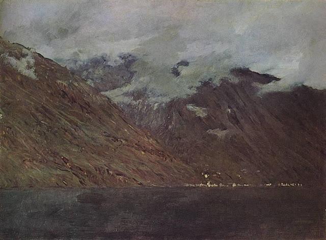 Исаак Ильич Левитан - Озеро Комо (1). 1894