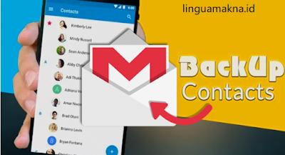 cara back up kontak ke gmail