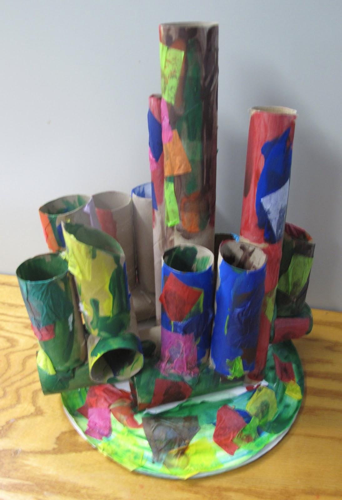 Metamora Community Preschool Sculpture Unit