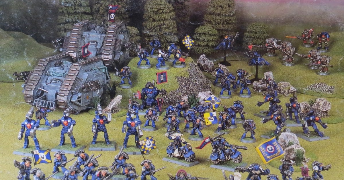 Ultramarines Army Magpie and Old Lead: S...