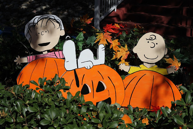 Image: Thanksgiving Pumpkin Halloween Snoopy Charlie Brown, by Geordie on Pixababy