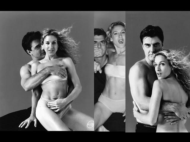 Sexo en Nueva York: Imágenes de Mr. Big y Carrie.