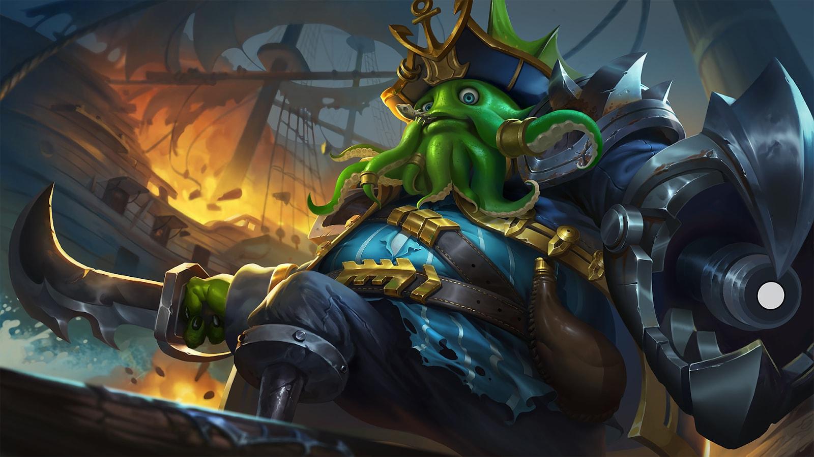Wallpaper Bane Deep Sea Monster Mobile Legends Full HD for PC
