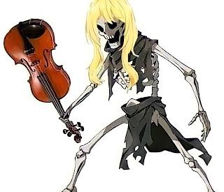 Meme kaori miyazono skeleton fight pose