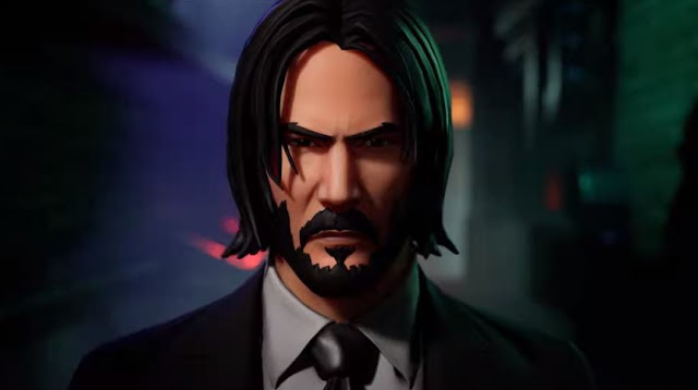 "The Fortnite event began in honor of the release of the third ""John Wick"""