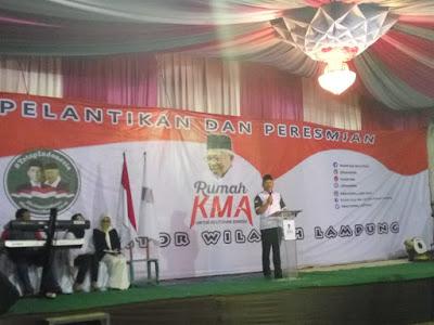 Rumah Kyai Ma'ruf Amin (KMA) Fokus Pelayanan Sosial