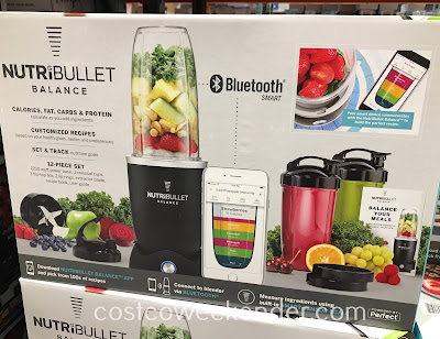 Make delicious smoothies and soups for you and your family with the NutriBullet Balance Smart Blender
