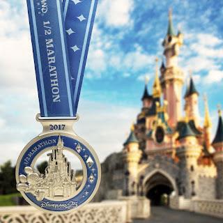 Médaille Semi Disneyland Paris 2017
