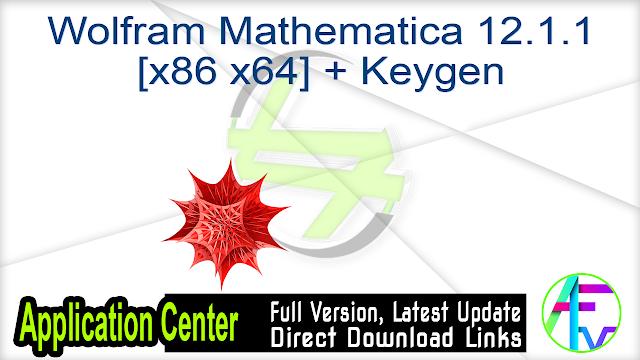 Wolfram Mathematica 12.1.1 [x86 x64] + Keygen