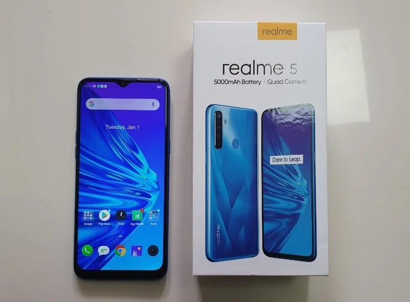 Realme 5 with Quad Cam and 5,000mAh Battery On Sale at Lazada; Yours Starting at Php5,990