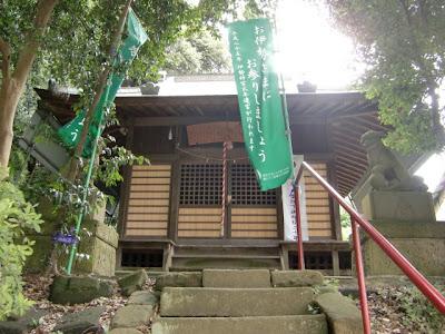 長尾城址・御霊神社