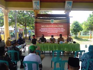 Dukung Program Pemerintah Desa Semare, ini pesan Danramil 03/0819 Kraton Pasuruan