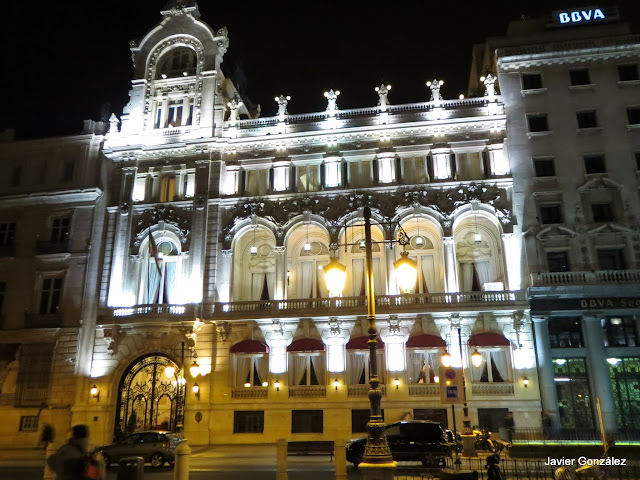 Casino de Madrid. Nocturno