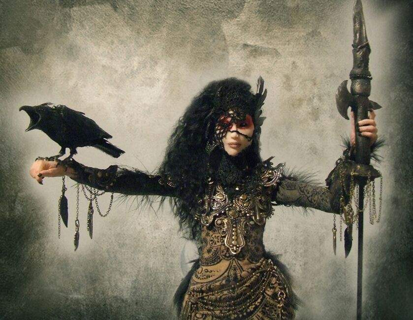 Morrigan - A Deusa da Morte e da Guerra na Mitologia Celta