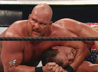 WWE / WWF Unforgiven 2001 - Steve Austin defended the US title against Kurt Angle