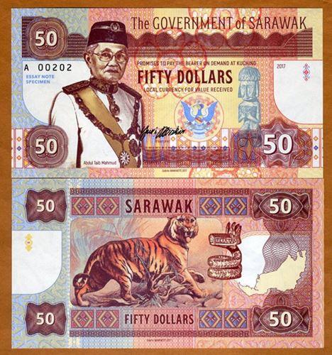 Sarawak bankote