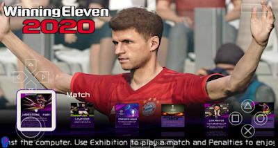 Winning Eleven 2020 HD Kamera Jauh Update 19-20