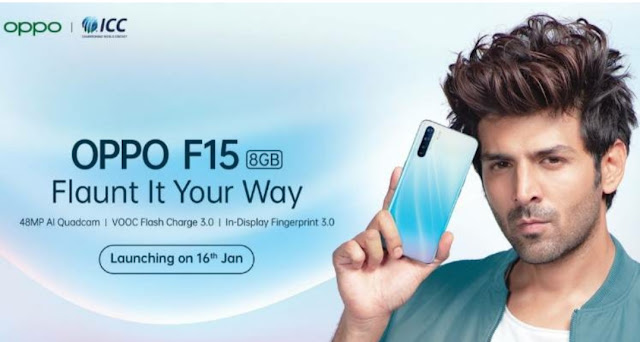 oppo f15 pro 16 january louch