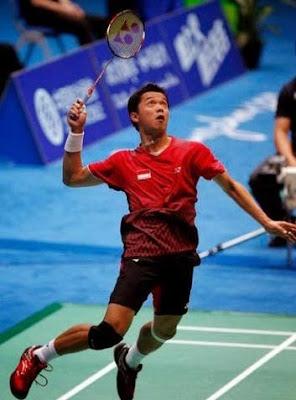 smash badminton tecnique