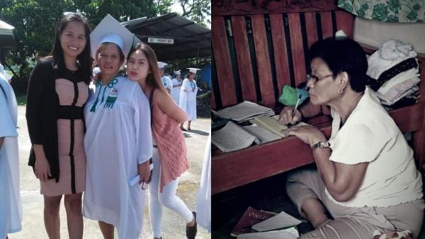 64-year-old senior high student taking night classes inspires netizens
