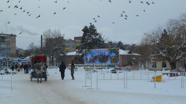 Площадь для новогодних гуляний