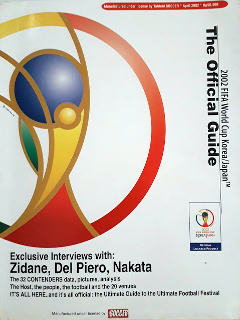 THE OFFICIAL GUIDE 2002 FIFA WORLD CUP KOREA JAPAN MAGAZINE