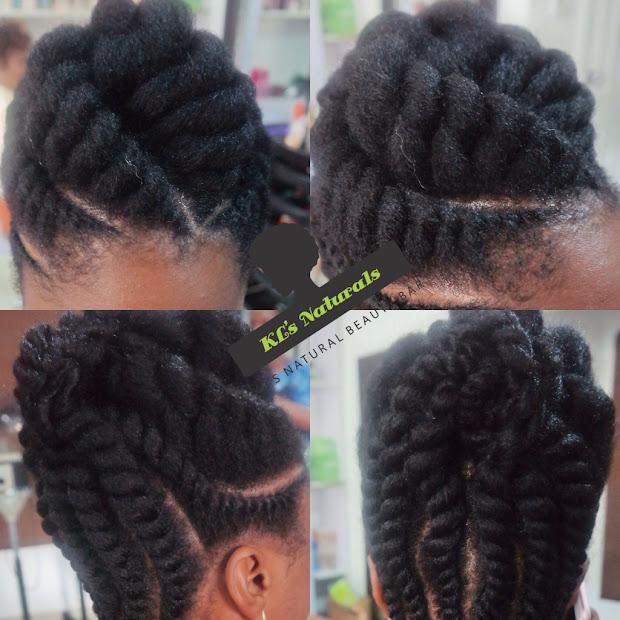 jumbo flat twist fine hair