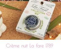crème pieds succulents  La Fare en Provence 1789