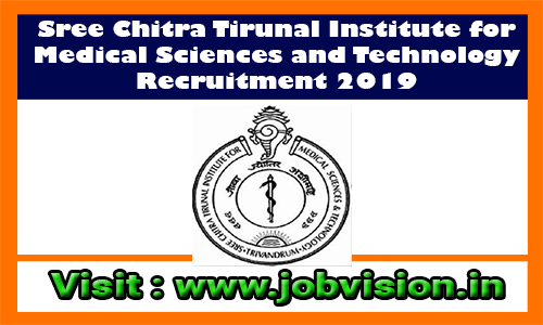 SCTIMST Recruitment 2019 10 Apprentice Posts