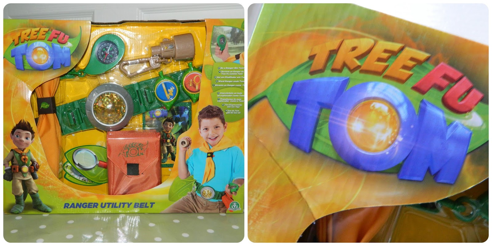 Tree Fu Tom Ranger Utility Belt